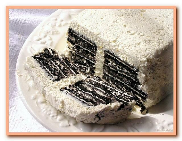 Oreo Fridge Cake (Pics)