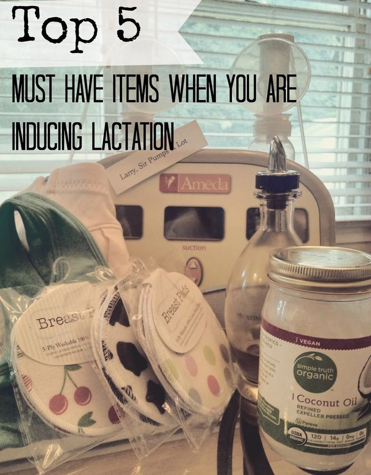 Our Misconception: Top 5 Must Have Items When you are Inducing Lactation