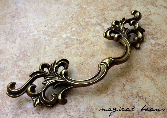 Br Drawer Pulls Vintage French Provincial By Magicalbeanshome