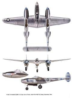 Lockheed's P38 Lightning - the plane was created in response to a 1937 Army specification for an interceptor that could reach 20,000 feet in 6 minutes.It appeared in force in the Southwest Pacific in mid-1943.