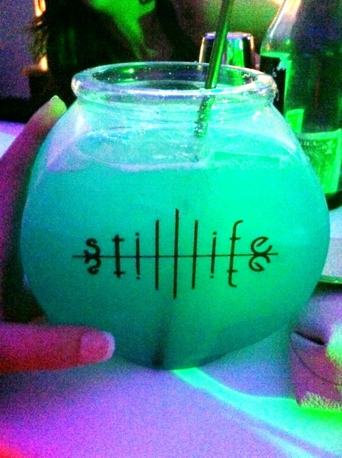 Still life fish bowl drink yummm drinks pinterest for Fish bowls drink