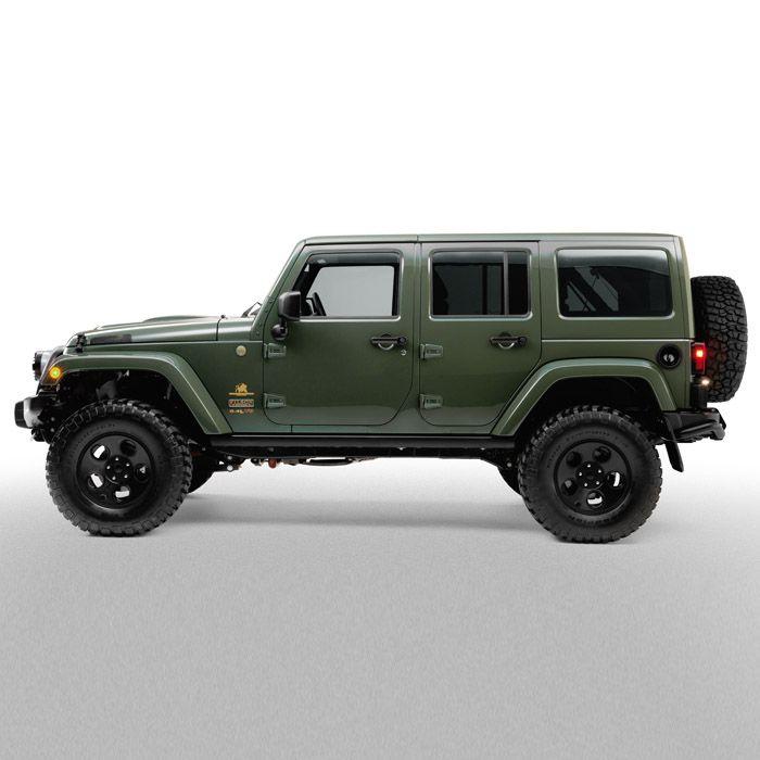 Filson AEV Jeep Wrangler