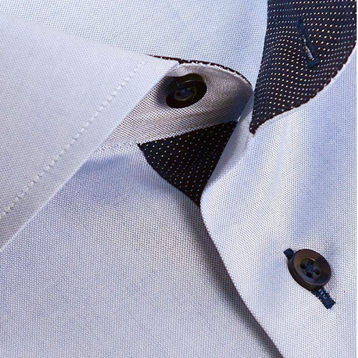 Skjorte fra Viero Milano Kr. 795,-  #menswear_no #menswear #oslo #tjuvholmen #lysaker #bogstadveien #hegdehaugsveien #skjorte #perlemor #viero #jobb #fest #shirt #suitup#motherofpearl #buttons