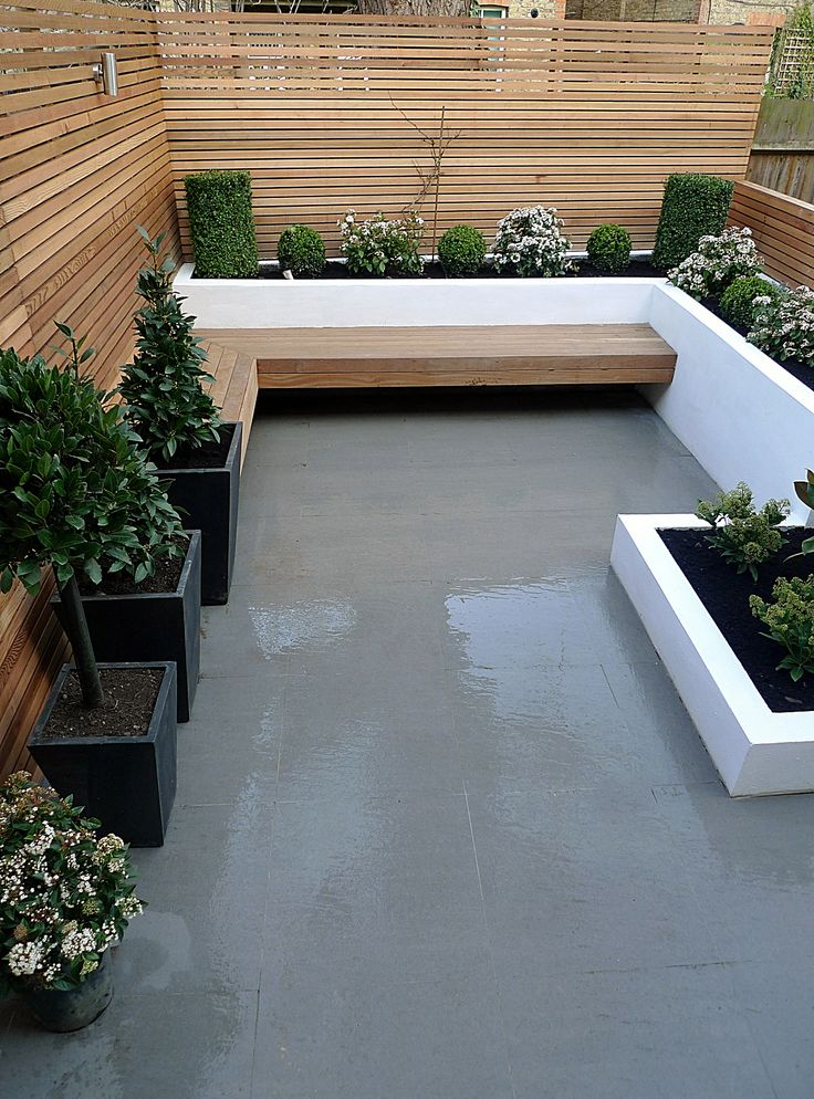 The 25 best terrace garden ideas on pinterest how to for Small terraced house garden ideas