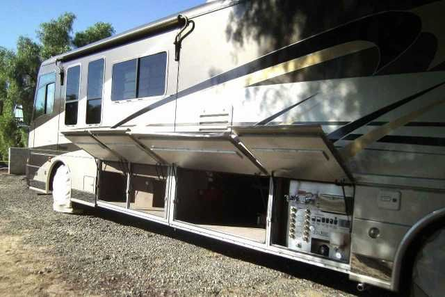 2004 Used Beaver Marquis-Garnet Class A in California CA.Recreational Vehicle, rv, 2004 Beaver Marquis-Garnet , 2004 Beaver Marquis, 43' 3-slide Garnet edition. Superb condition, Hi-Line motor coach, privately owned, superb quality. Over $600,000 new, now this top quality coach can be yours for the recently reduced price of $135,000. Cat. C-12, 505 HP 12 liter diesel engine matched with Allison 6-speed 4000MH transmission, 2 stage compression brake and intelligent cruise control move this…