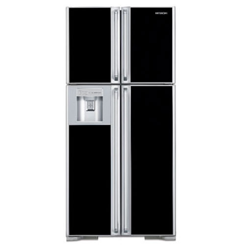 Hitachi R-W660END9-GBK 601.0 LT with 2 Door Refrigerator online with best price at Hitachi e-Shop. Shop online for free shipping and quick delivery with great deals and offers in India. For more details please visit : http://www.hitachi-hli.com/e-shop/product-details/hitachi-r-w660end9-standard-models-601-0-r-w660end9-gbk-std-big-french-ltr/46