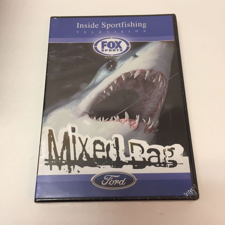 Inside Sportfishing Television Fox Sports Mixed Bag Ford Sharks DVD