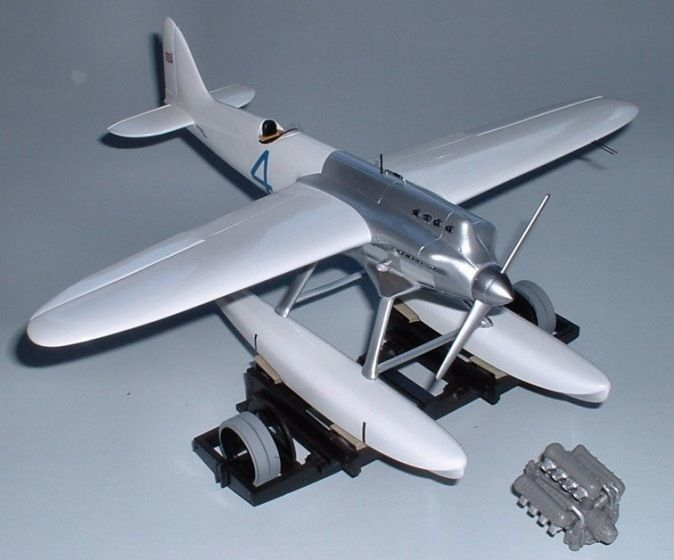 Supermarine S4. Marsh Models/Aerotech, 1/32, resin, initial release, No.AT32007. Price: Not Sold.