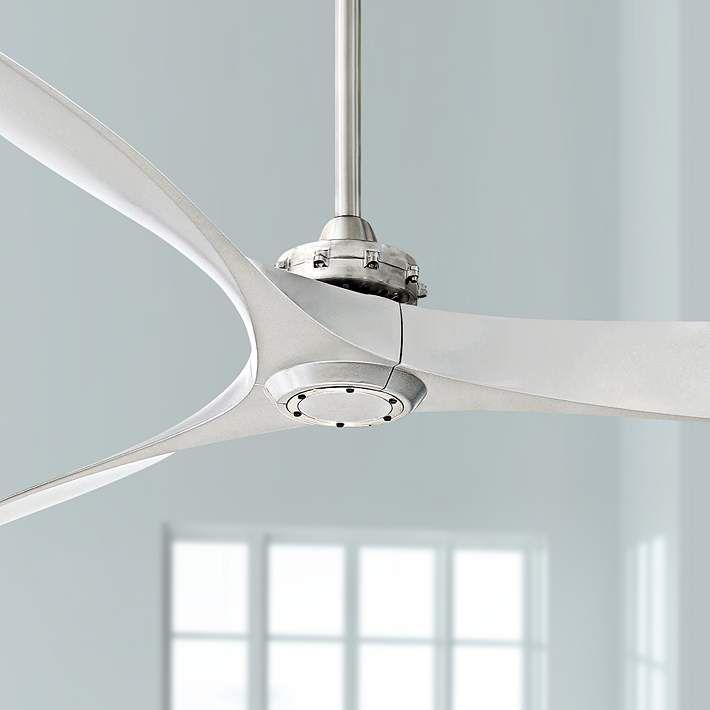 "60"" Minka Aire Aviation Brushed Nickel Ceiling Fan"