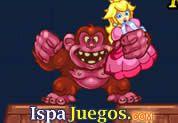 Juego de Donkey Kong Remix | JUEGOS GRATIS: La princesa esta nuevamente en peligro y ahora lo tiene atrapado Donkey Kong, ayuda a Mario bros a llegar a la cima esquivando todos los barriles que te lancen saltando y saltando.