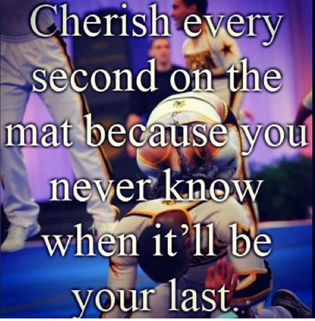 Seriously, when you think about it, it makes so much since. I know a girl that cheered from when she turned 3 to till she was 16 because she went out on the mat and was doing a back tuck and went off the mat but she tried to stop herself and ended up with a broken neck and 3 broken fingers. She went back to the team and they told her she couldn't cheer anymore. I was like OMG how can u live???
