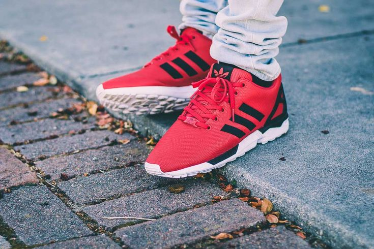 See my on foot video review of these Adidas ZX Flux Red and Black + where to find em