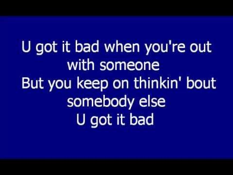 Usher - U Got it Bad OUR LOVE SONG .....