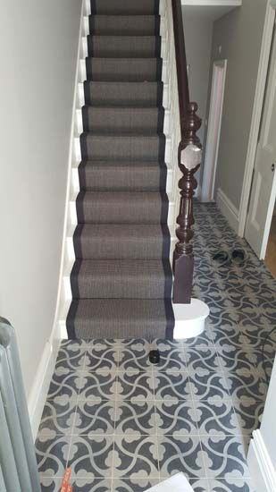 1000 Images About Herringbone Stair Runner On Pinterest