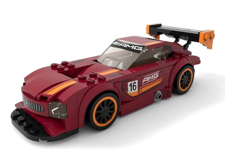 """148 Likes, 1 Comments - Klaus Raczek (@k_lego_r) on Instagram: """"Lego Mercedes AMG GT3 rendert with cinema4d. More coming soon! #lego #mercedes #amg #amggt3 #dtm…"""""""