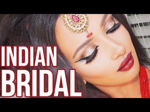 Indian Bridal Makeup, Heavy Glam - Collab w/ Nabela Noor