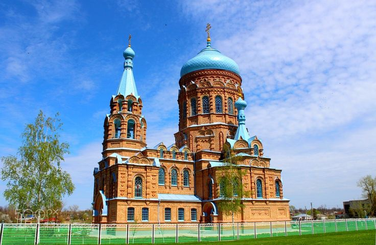 Popular on 500px : Храм в глубинке на Кубани by fendrikjv