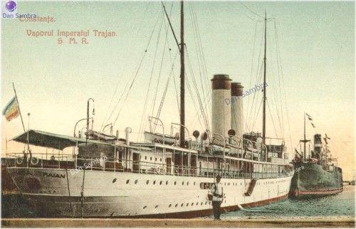 Romanian Auxiliary Cruiser Imperatul Traian, served in WWI.