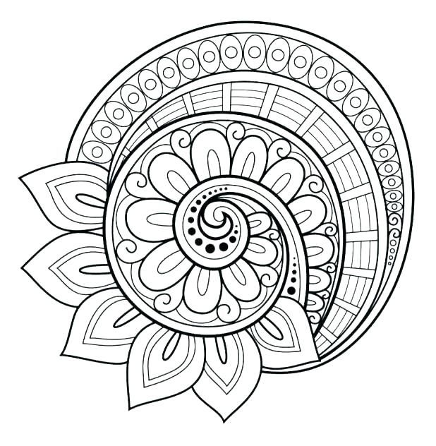 Flower Mandala Coloring Pages Best Coloring Pages For Kids Abstract Coloring Pages Mandala Coloring Pages Mandala Printable