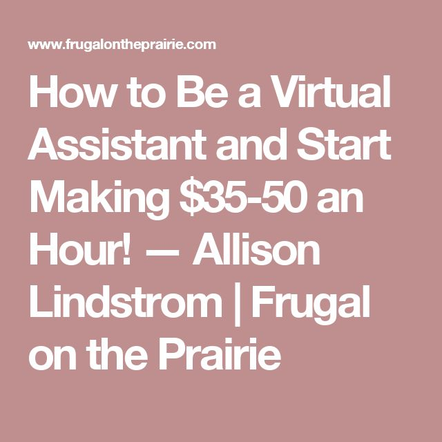 591 Best Virtual Assistant Jobs From Home Images On Pinterest