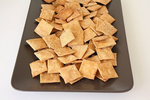 Homemade Wheat Thins.  Need to try this version.