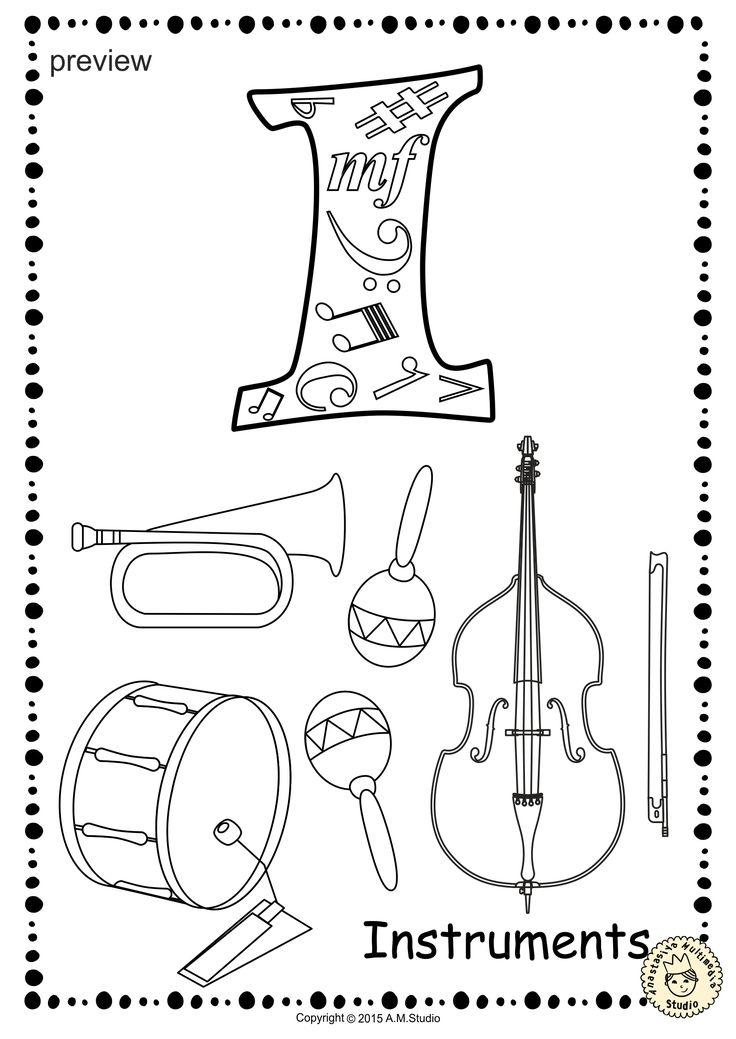 175 best Musical Instrument Activities images on Pinterest