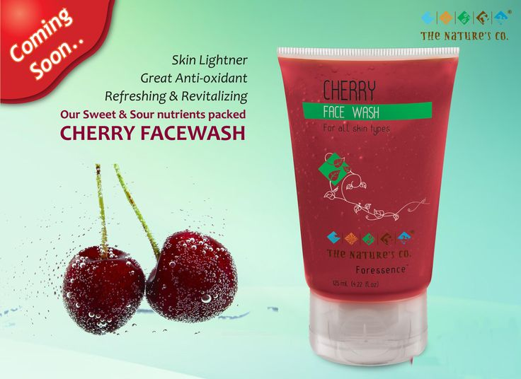 Cherry Face Wash launching soon on popular demand….Get ready to have some fun!!