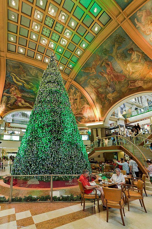 Christmas in Galerías Pacífico - Buenos Aires, Argentina
