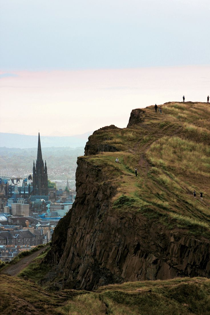 view from Arthur's Seat by Kyle Bonallo