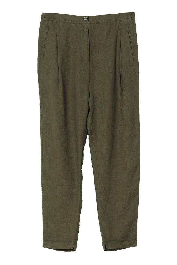 Linen Low Crotch Pant