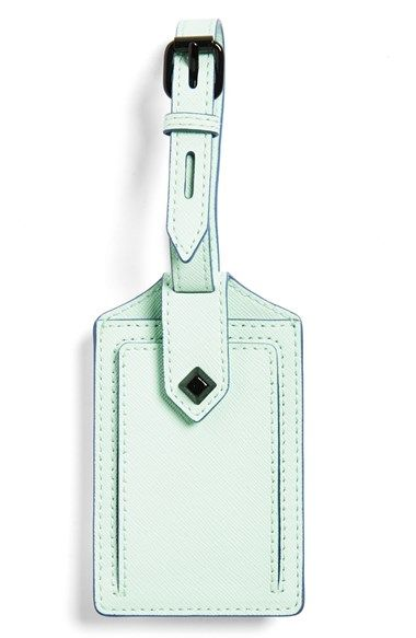 Rebecca Minkoff Luggage Tag at Nordstrom.com. Easily ID your luggage with a vibrantly hued luggage tag accented with sleek enameled hardware.