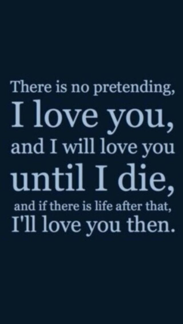 I Love You Forever My Husband Quotes : ... an after life Funny Pinterest Love you all, My life and My wife