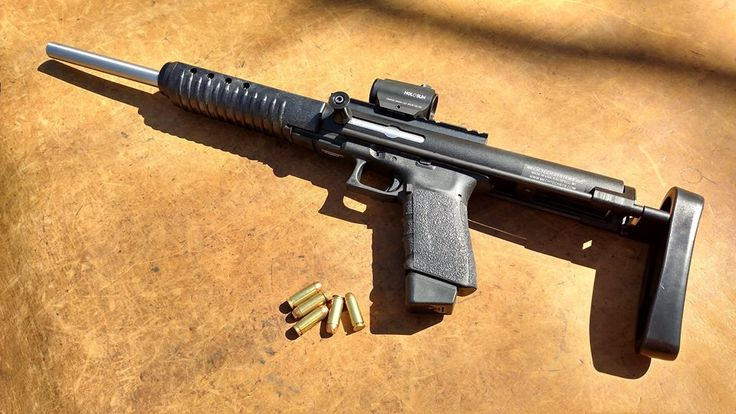 10mm version of the Mechtech Glock carbine | Guns | Glock ...