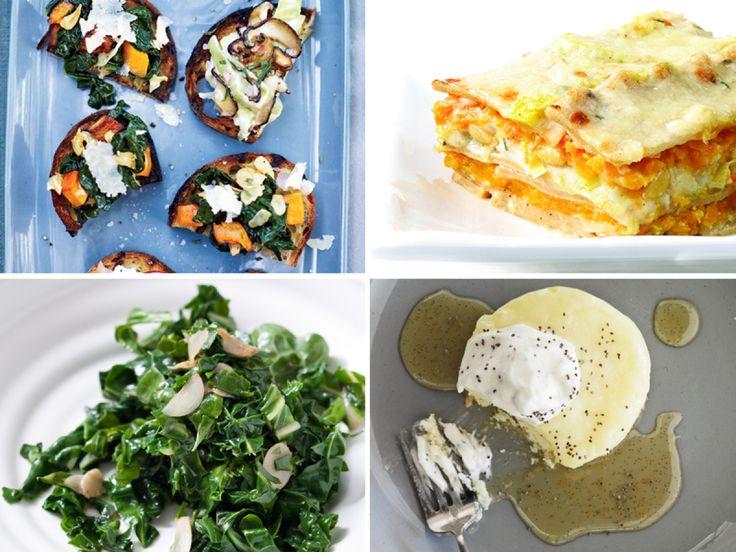 Vegetarian's harvest menu
