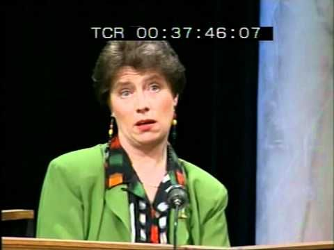 ▶ Late Late Show 1992 Abortion Referendum Special - Prof. Patricia Casey takes the stand. - YouTube