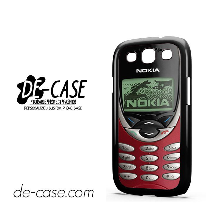 Nokia Old Red Mobile DEAL-8010 Samsung Phonecase Cover For Samsung Galaxy S3 / S3 Mini