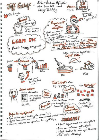 Keynote at UX Cambridge 2012 Better Product Definition with Lean UX and Design Thinking