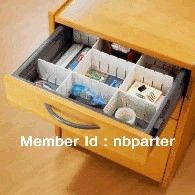 combination Plastic Drawer Dividers,DIY drawer divider ,plastic drawer divider-in Storage Drawers from Home & Garden on Aliexpress.com