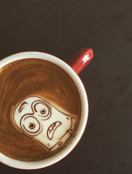 10 stunning pieces of latte art that look delicious and also nostalgic?