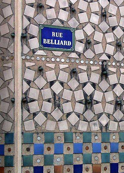 La rue Belliard  (Paris 18ème)