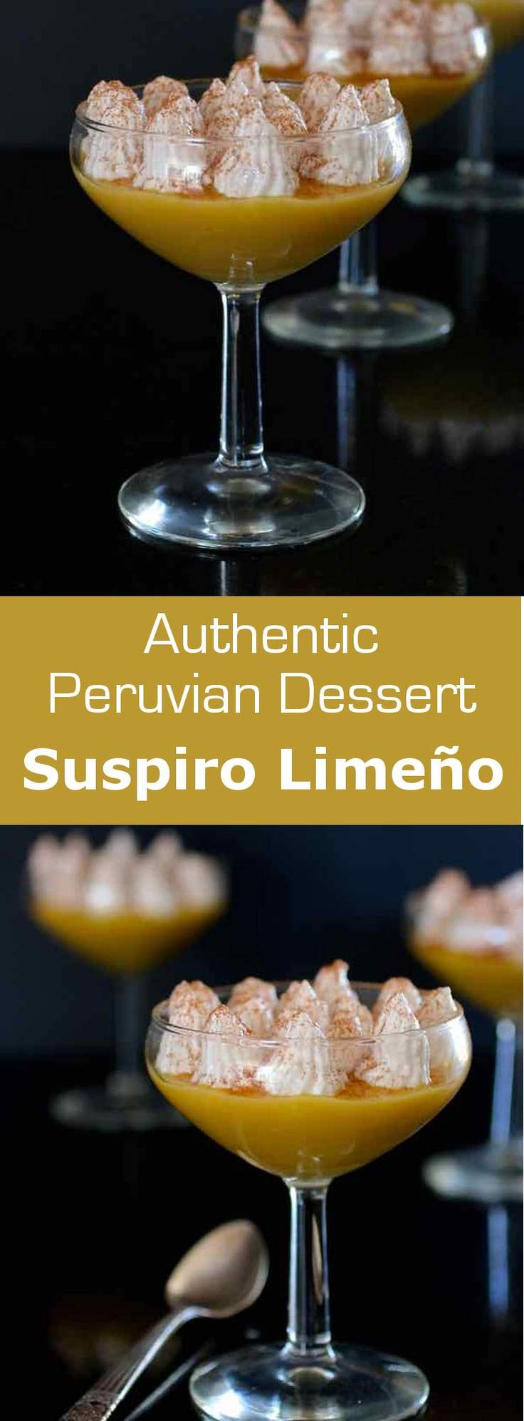 Suspiro limeño is a traditional Peruvian dessert combining the silkiness of a…
