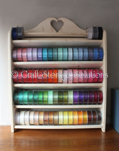 Ribbon Storage - Vintage Style Ribbon Rack / Shelf (500mm & 600mm wide) | eBay