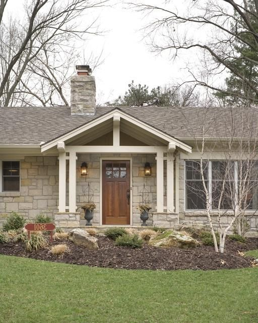 Best 25 ranch house exteriors ideas on pinterest ranch for Exterior updates for ranch style homes