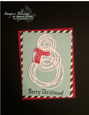 what a elver use of the Swirly Bird Framelits! http://www.stampablessing.com/