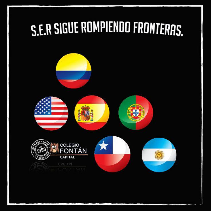 Más de 30 colegios en Colombia y países como Estados Unidos, Chile, Argentina, Portugal y España cuentan con el Sistema de Educación Relacional en su sistema educativo.  #YoSoyFontan