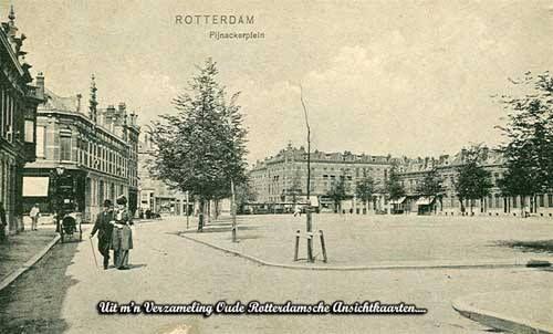Pijnackerplein, lang geleden.