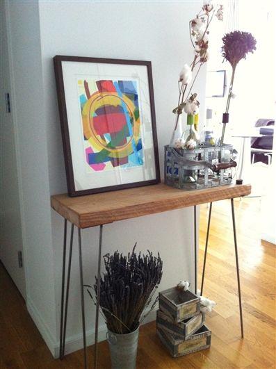 Urban Loft Reclaimed Wood Console Table