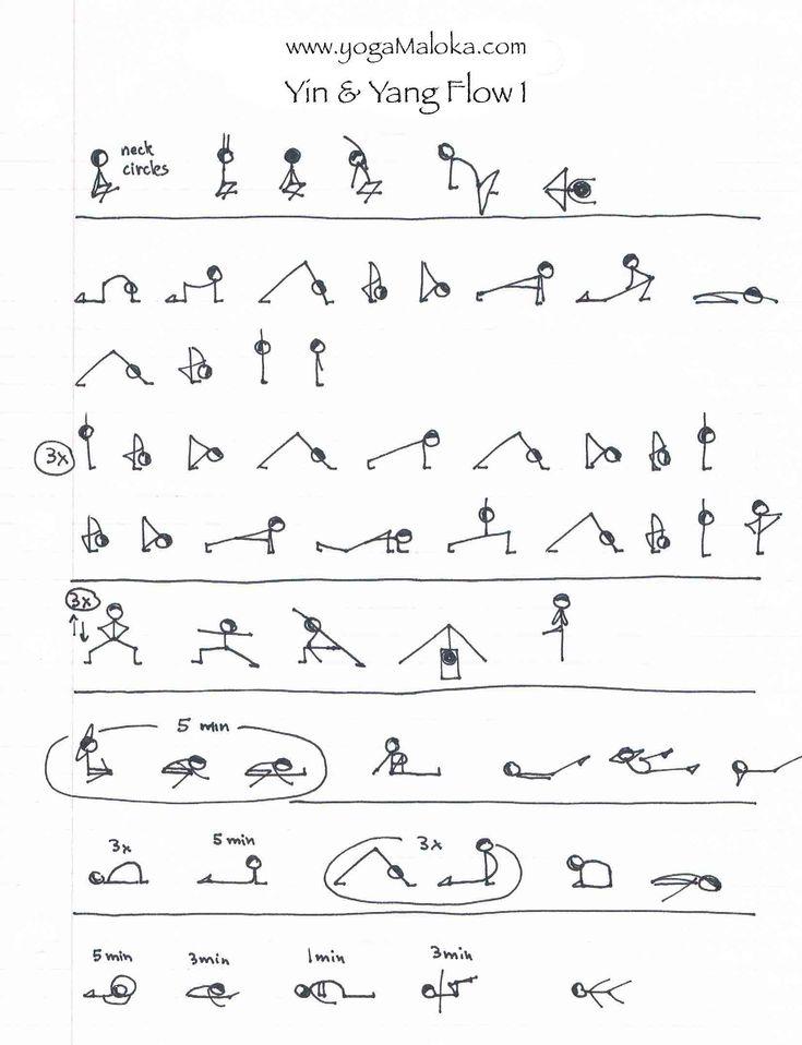 Yin Yoga Asanas Sequence #yin #yoga #asanas