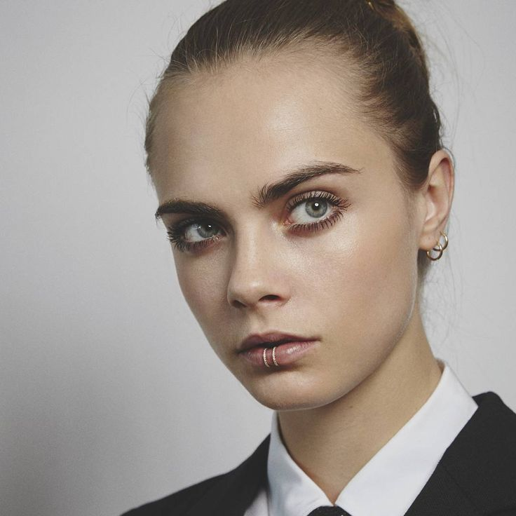 Cara Delevingne by Benjamin Madgwick for YSL Beaute