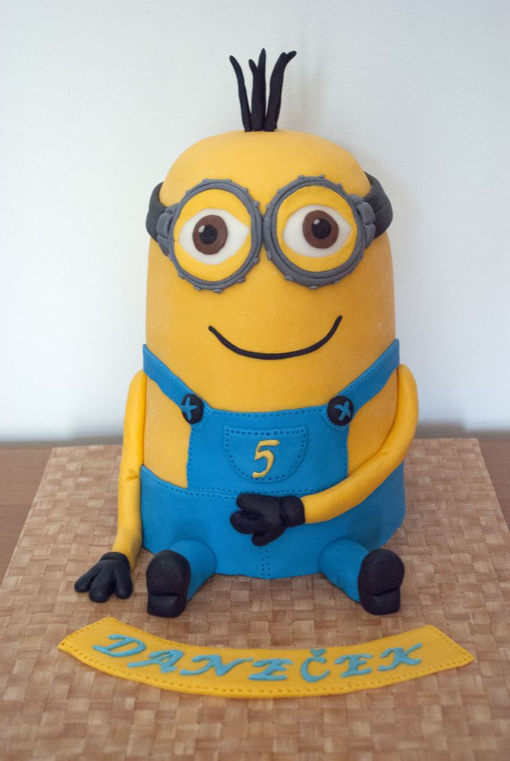 kevin cake kevin o leary kevin minion brayden 5th minion cakes minions ...